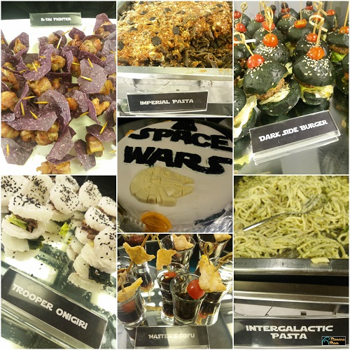 Space Wars Food