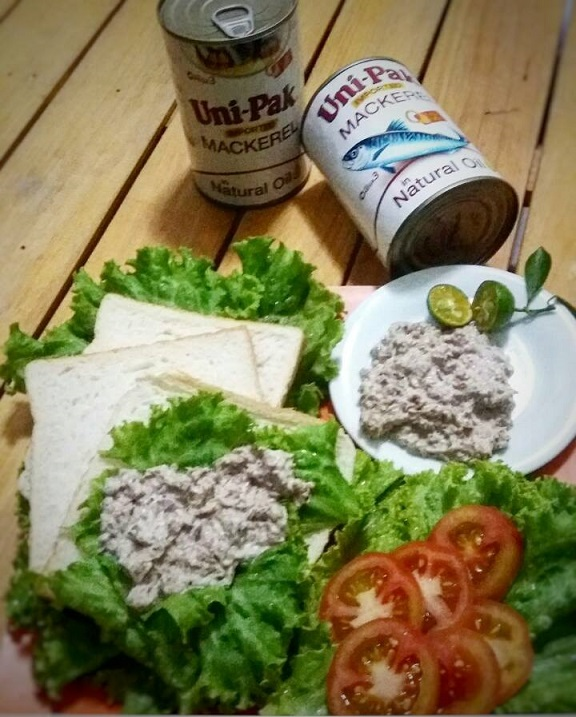 Mackerel Sandwich