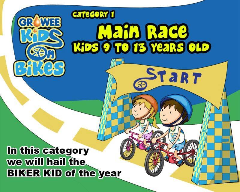 Kids On Bikes Race Category 1