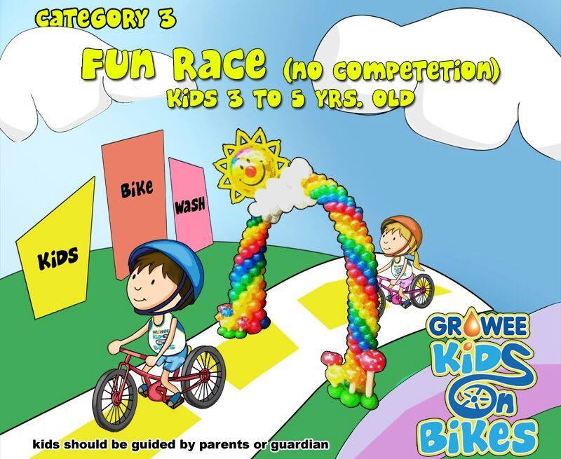 Kids On Bikes Race Category 3